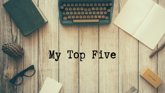 My Top Five Creative Writing Books